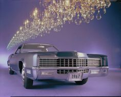 1967 Cadillac Fleetwood Eldorado (7.0-liter capacity, 340 hp) becomes the first Cadillac with front-wheel drive.