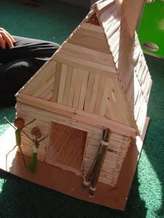 pop stick house