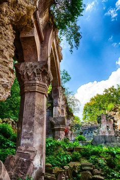 The ruins of St. Grigor Monastery in Dsegh, Armenia
