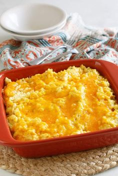 Cheesy Chicken and Rice - Oven Version - Southern Plate