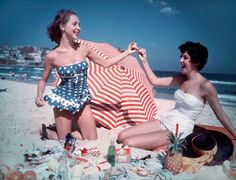 sweet vintage bathing suits