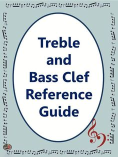 FREE DOWNLOAD!  Treble and Bass Pitch reference guide! CLICK on the pic to see ALL the pages in the download.