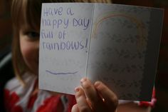 (FREE RAOK!) Make and deliver an uplifting card. {source: So Wonderful, So Marvelous}