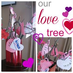 our love tree | valentines activities | #weteach