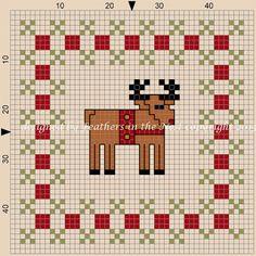 Free reindeer pattern
