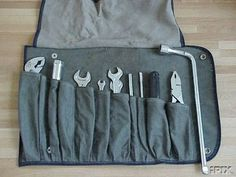 Tool roll for car / motorcycle
