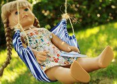 american girl diy hammock, hammocks, diy american girl doll crafts, americangirl, blog