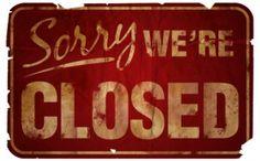 busi frustrat, vintage signs, parent, close sign, small businesses