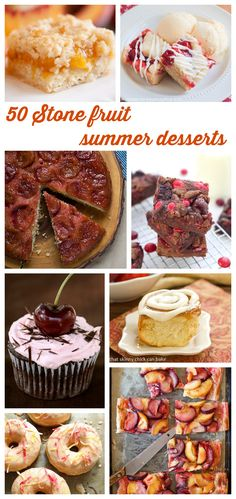 50 stone fruit summer desserts - Roxana's Home Baking
