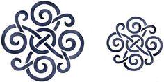 celtic knots, celtic stencil