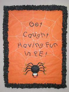 halloween classroom bulletin board ideas - Google Search