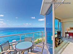 Luxury Trump Tower Loft #penthouse #views #ocean #apartment #penthouse #balcony