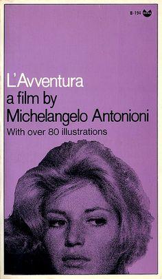 B194 L'Avventurra  A film by Michelangelo Antonioni   Grove Press Black Cat Edition 1969