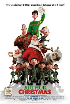 Watched Arthur Christmas tonight with Sue and the girls. Really cool. Enjoyed it much more than I thought I would..