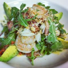 Shrimp, Crab & Avacado lemonette