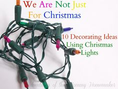 Decorating Ideas With Christmas Lights