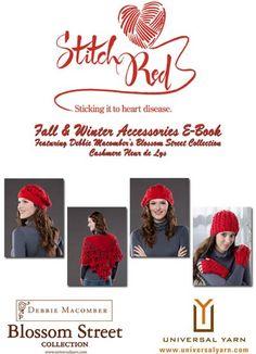 Free Universal Yarn Pattern : Stitch Red E-Book