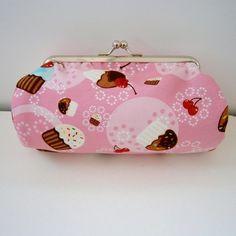 Pretty Cupcakes  Clutch Bag  Make up Purse £14.50