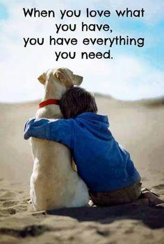 Όταν αγαπάς...