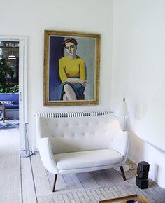 Poeten Sofa by Finn Juhl