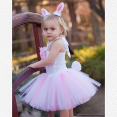 Mini Bunny Tutu Dress and Accessories.
