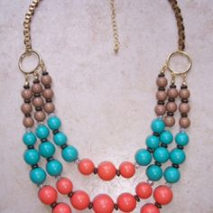 REDUCED PRICE: Beaded Beauty Necklace at KIST Boutique, $18.20 (USD)