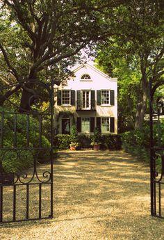 A Beautiful Home on Murray Boulevard. Charleston, South Carolina.