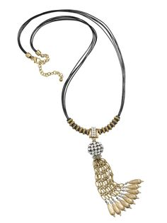 The WOW List: Julia Tassel Necklace #chicos