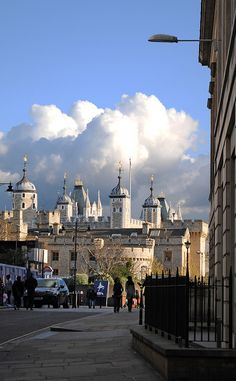 Tower Hill and the Tower of London