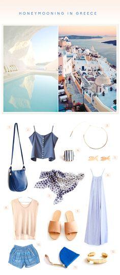 Inspired By A Honeymoon In Greece - http://www.decoratingo.com/inspired-by-a-honeymoon-in-greece/ #WeddingIdeasAndDesign