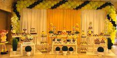 decoração mesa principal