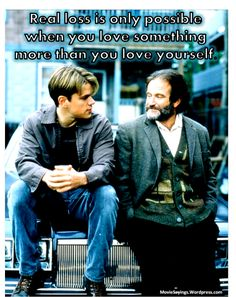 "Robin Williams in ""Good Will Hunting"" (1997)"