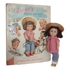 Vogue Ginny Doll in Tagged Outfit w/HTF Ginny's First Secret Book