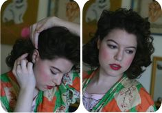 DIY Vintage Curls