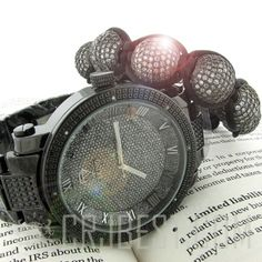Black Diamond Knotted Bracelets, as favoured by RnB Rappers