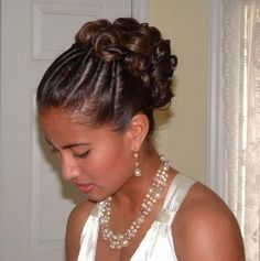 Original Wedding Hairstyle
