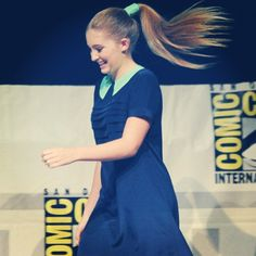 Willow Shields at the Comic-Con panel.