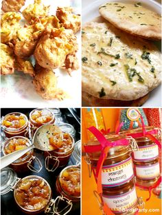 Bollywood Bling Party Food Ideas! YUM!! #food #Indian #curry #Bollywood #Recipes indian curri, bling parti, parti appet, food indian, food idea, savori parti, parti food