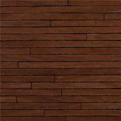 """1/2"""" Scale Dark Wood Flooring Paper"""