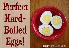 The Trick to Perfect Hard-Boiled Eggs