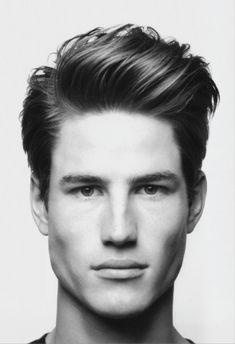 The Ivy League Blow-Back man hair, men haircuts, long hair, guy fashion, men fashion, guy hair, casual hairstyles, men's cuts, men's hairstyles