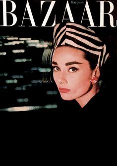 Audrey Hepburn by Richard Avedon.