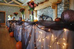 for a Halloween themed wedding