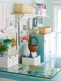 Office Space: love the color!