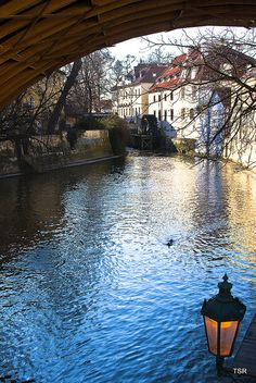 Canal in Kampa, Prague, Czech Republic