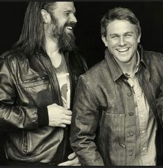 I LOVE SOA but miss Opie badly  Ryan Hurst and Charlie Hunnam as Opie Winston and Jax Teller