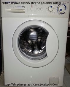 Tips To Save Money In The Laundry Room