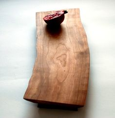 Baguette Cutting Board in American Cherry