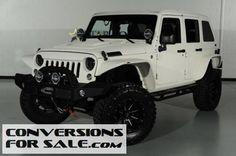 2014 Jeep Wrangler Unlimited Kevlar Coated Custom Fastback Jeep