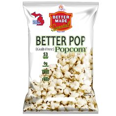 Better Pop {Guilt Free} Popcorn is arriving at stores across Michigan!